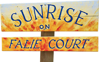 Sunrise on Falie Logo