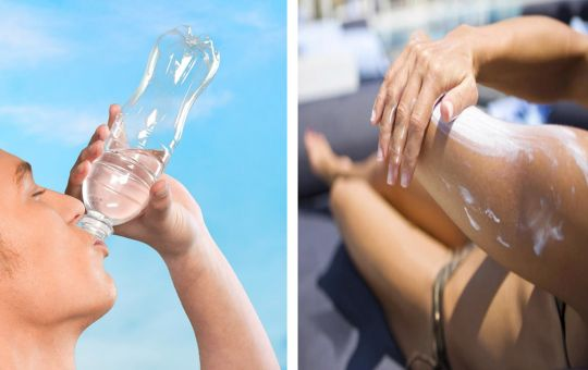 Bottled Water Sunscreen